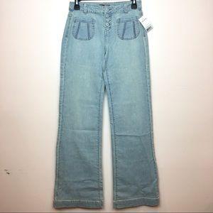 Jordache Vintage Look Flare Leg Jeans SZ 26 NWT